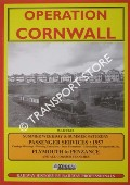 Operation Cornwall - Summer Weekday & Summer Saturday Passenger Services 1957, Plymouth to Penzance by BECKET, W.S.