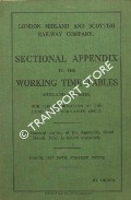 Sectional Appendix to the Working Time Tables - Midland Division - March 1937 by London Midland & Scottish Railway