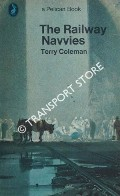 Book cover of The Railway Navvies  by COLEMAN, Terry