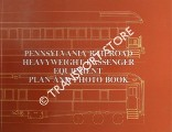 Pennsylvania Railroad Heavyweight Passenger Equipment Plan and Photo Book by CHESLEY, Alan B. (illustrator)