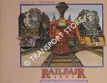 Railfair 1981 Official Program by California State Railroad Museum