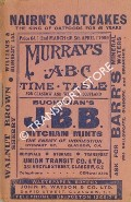 Murray's ABC Time Table for Glasgow and West of Scotland, 2nd March until 5th April 1959 by Thomas Murray & Co.