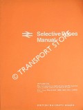 Selective Prices Manual - September 1968 by British Railways