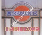 Underground Heritage - Tokens of Yesterday on today's Tube by BADSEY-ELLIS, Antony