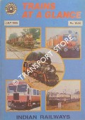 Trains at a Glance - All India Railway Abstract Time Table for Mail & Express Trains, July 1995 by India Railways