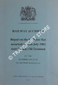 Railway Accident - Report on the Collision that occurred on 30th July 1982 near Lindsey Oil Terminal in the Eastern Region of British Railways by Department of Transport