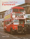Book cover of London Half-Cab Farewell by LANE, Kevin