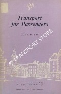 Book cover of Transport for Passengers - A Study in Enterprise Without Licence by HIBBS, John
