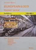 Book cover of European Loco Pocket Book - Volume 2 by WEBSTER, Neil HODGSON, Phil; & WORMOLD, Philip