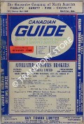Canadian Guide, Canada's up-to-the Minute Gazetteer & Shipper's Directory, October 1964 by NEWEY, Stan C. (ed.)