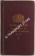A Collection of the Public General Railway Acts relating to Railways in Scotland including the Companies, Lands and Railway Clauses Consolidation (Scotland) Acts 1845 - 1873 by BIGG, James (ed.)