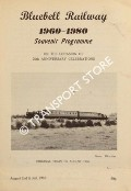 Bluebell Railway 1960 - 1980: Souvenir Programme on the Occasion of the 20th Anniversary Celebrations by Bluebell Railway Preservation Society