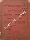 Loading of Passenger and Freight Trains, May 1st 1939 and until further notice by London Midland & Scottish Railway (Western Division)