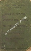 General Appendix to the Working Time Tables with Sectional Appendix - Midland Division - March 1937 by London Midland & Scottish Railway