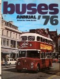 Book cover of Buses Annual '76  by BOOTH, Gavin (ed.)