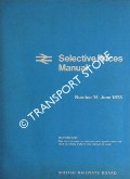 Selective Prices Manual - Number 14, June 1973 by British Railways