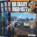 BR Diary 1948 - 1957 / 1958 - 1967 / 1968 - 1977 / 1978 - 1985 by CREER, Stanley; GLOVER, John & HEAPS, Chris