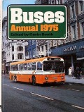 Book cover of Buses Annual 1975  by BOOTH, Gavin (ed.)