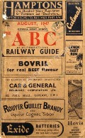 The ABC or Alphabetical Railway Guide - August 1947 by Thomas Skinner & Co.