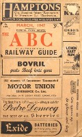 The ABC or Alphabetical Railway Guide - March 1947 by Thomas Skinner & Co.