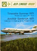 Timetable Summer 1971  by Aer Lingus
