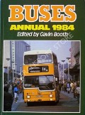 Book cover of Buses Annual 1984  by BOOTH, Gavin (ed.)