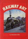 Book cover of Railway Art  by ELLIS, C. Hamilton