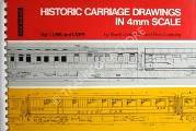 Historic Carriage Drawings in 4mm Scale by JENKINSON, David & CAMPLING, Nick