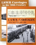 LSWR Carriages  by WEDDELL, Gordon