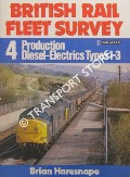 Production Diesel-Electrics Types 1-3  by HARESNAPE, Brian & BATTY, S.R.
