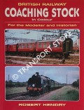 Book cover of British Railway Coaching Stock in Colour  by HENDRY, Robert