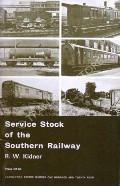 Service Stock of the Southern Railway  by KIDNER, R.W.