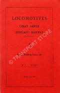 Locomotives of the Great North of Scotland Railway  by ALLCHIN, M.C.V.