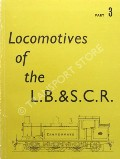 Book cover of The Locomotives of the London, Brighton & South Coast Railway  by BRADLEY, D L
