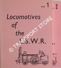 Locomotives of the London and South Western Railway by BRADLEY, D L