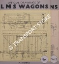 Official Drawings of LMS Wagons by ESSERY, R.J.