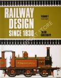 Book cover of Railway Design Since 1830  by HARESNAPE, Brian