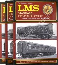 The Illustrated History of LMS Standard Coaching Stock  by JENKINSON, David & ESSERY, Bob
