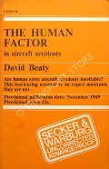 The Human Factor in Aircraft Accidents  by BEATY, David