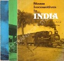 Book cover of Steam Locomotives in India  by HUGHES, Hugh & JUX, Frank