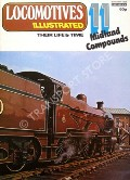 Locomotives Illustrated No. 11 - Midland Compounds by CORNWELL, E.L. (ed.)