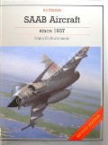 Book cover of SAAB Aircraft since 1937  by ANDERSSON, Hans G.