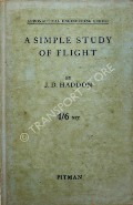 A Simple Study of Flight  by HADDON, J.D.