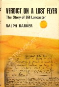 Verdict on a Lost Flyer - The Story of Bill Lancaster by BARKER, Ralph