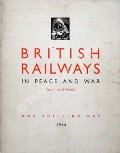 Book cover of British Railways in Peace and War  by British Railways Press Office