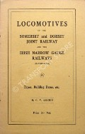 Book cover of Locomotives of the Somerset and Dorset Joint Railway and the Irish Narrow Gauge Railways  by ALLCHIN, M.C.V.