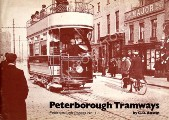 Book cover of Peterborough Tramways  by AUSTIN, G.D.
