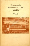 Tramways in Metropolitan Essex  by BURROWS, V.E.